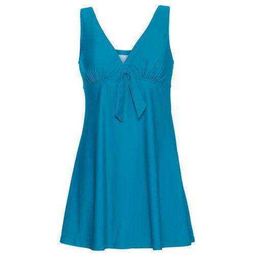 Sukienka kąpielowa niebieskozielony morski, Bonprix, M-XXXL
