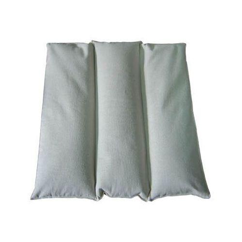 Poduszka pikowana 3-komorowa z łuski gryki