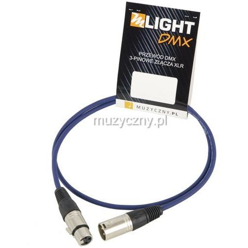 dmx 1 pair 110 ohm 1m przewód dmx 3-pin xlr xlr marki Mlight