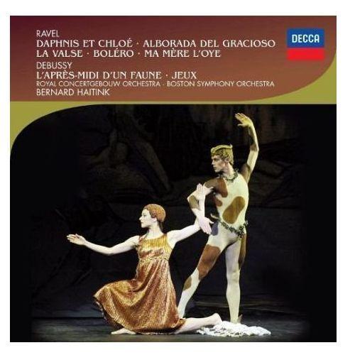 Ravel:daphin et chloe, la valse, bolero (ballet edition) - bernard haitink (płyta cd) marki Universal music
