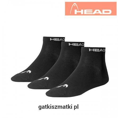 Head Skarpety quarter czarne
