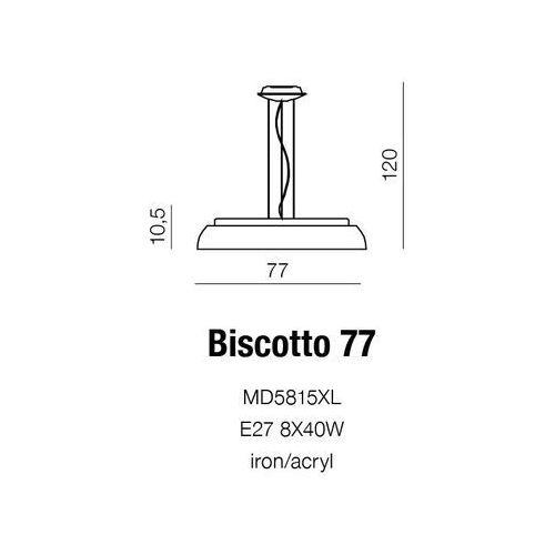 Azzardo Lampa biscotto 77 (5901238405634)