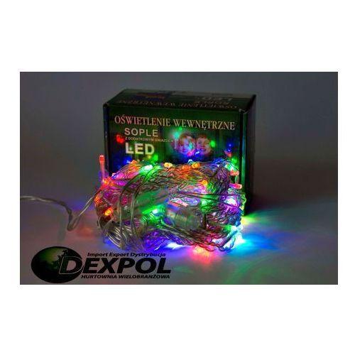 LAMPKI CHOINKOWE SOPLE LED 100 ŻARÓWEK MULTIKOLOR LED100/SK/M - sprawdź w DEXPOL