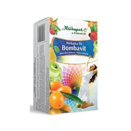 Herbapol kraków Herbatka fix bombavit owocowo-ziołowa z rokitnikiem x 20 saszetek