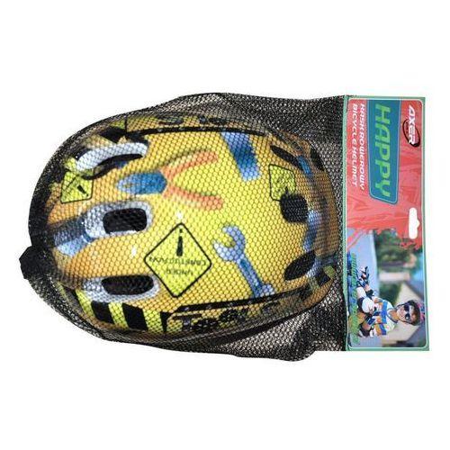 Kask rowerowy dla dzieci Happy Work - sprawdź w FiveSport.pl