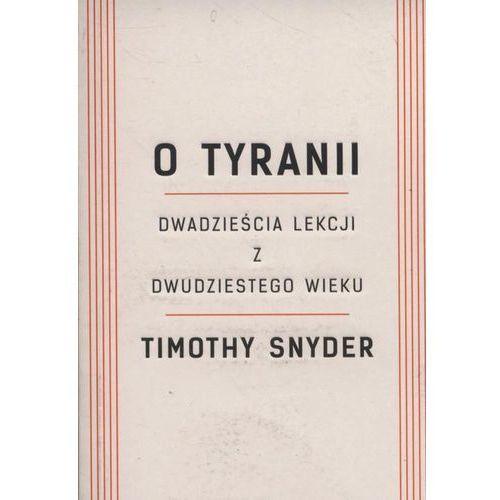 O tyranii - Timothy Snyder, Znak