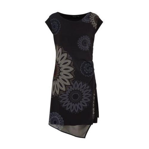 Desigual Sukienka 'VEST_SANDRINI' mieszane kolory / czarny, w 6 rozmiarach