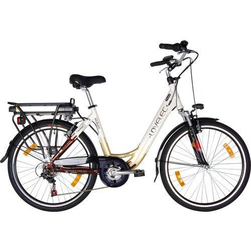 Rower elektryczny urban marki Lovelec