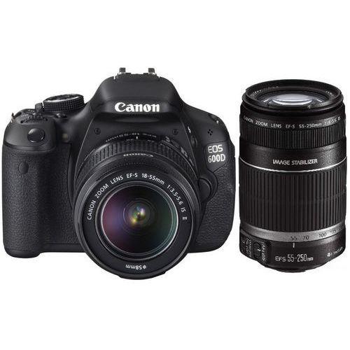 EOS 600D marki Canon - lustrzanka cyfrowa