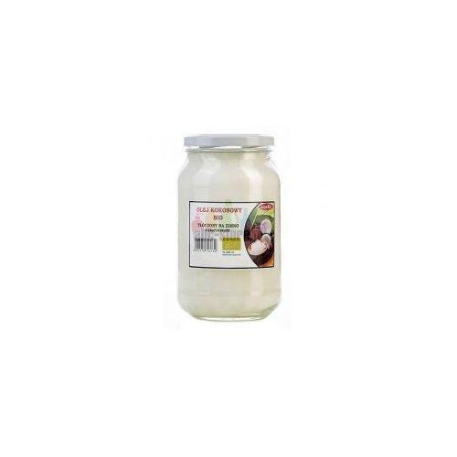 BIO Olej kokosowy 900 ml - TŁOCZONY NA ZIMNO