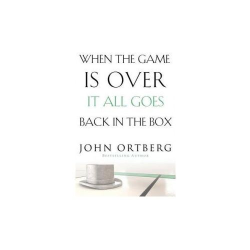 When the Game Is Over, It All Goes Back in the Box (9780310340546)