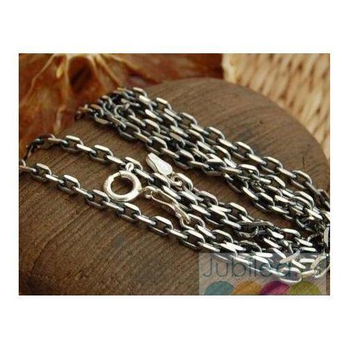 ANTYCZNY SPLOT - srebrny łańcuch 65cm