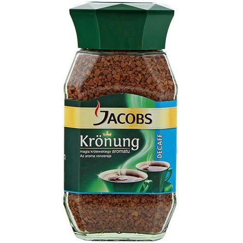 Kawa rozpuszczalna bezkofeinowa jacobs krönung decaff 100 g marki Kraft