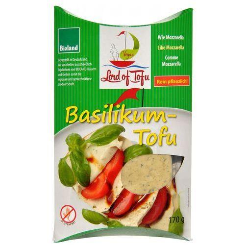 Produkt wegański a la mozzarella z bazylią bezglutenowa BIO 170g - Lord of tofu, 4260019320063