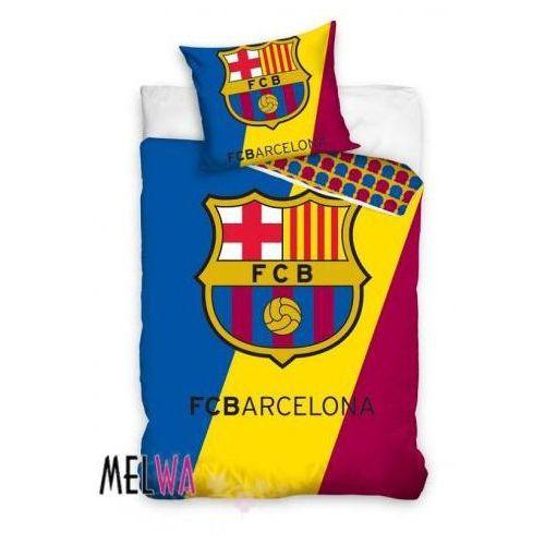 Komplet pościel licencyjna kluby sportowe FC Barcelona 160x200cm, Dystrybutor Carbotex
