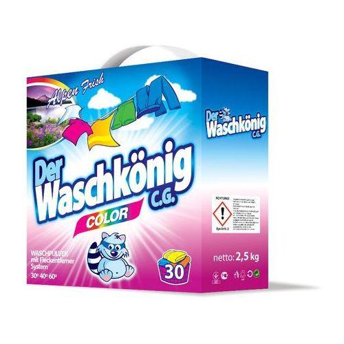Waschkonig 2x Proszek do prania COLOR 2,5 kg (proszek do prania ubrań)