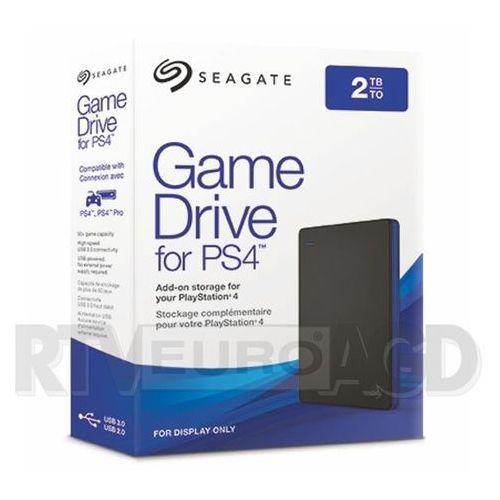 Dysk zewnętrzny SEAGATE STGD2000400 Game Drive 2TB do konsoli PS4, STGD2000400