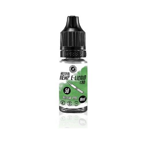 E-liquid CBD 50mg 10ml Beznikotynowy Hempbroker Naturalny (5901793661292)