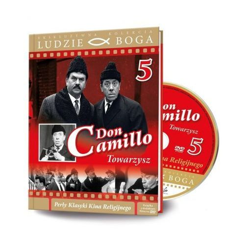 Ludzie Boga. Don Camillo. Towarzysz DVD + książka