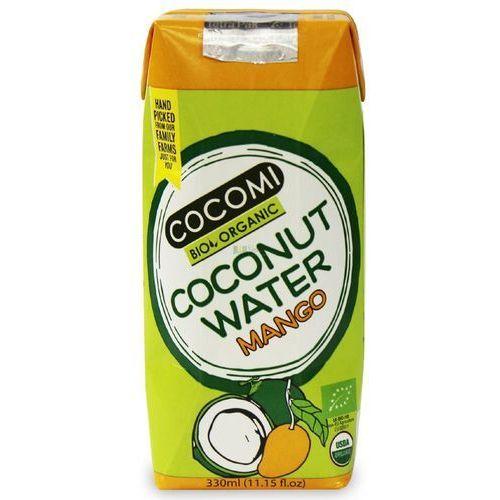 Cocomi (wody kokosowe, oleje kokosowe, śmietanki) Woda kokosowa o smaku mango bio 330 ml - cocomi