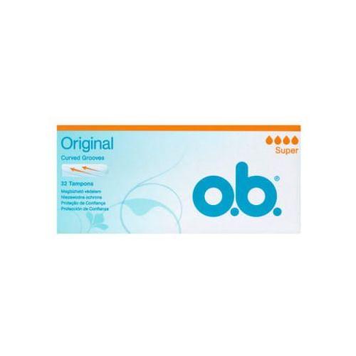 O.b.original super tampony 1 op.-32szt - johnson od 24,99zł darmowa dostawa kiosk ruchu marki O.b.®
