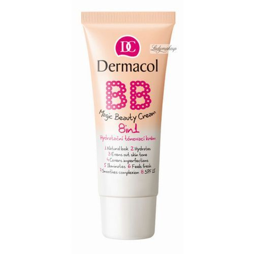 Dermacol - BB Magic Beauty Cream 8in1 - Krem BB 8w1 - NUDE (85954229)