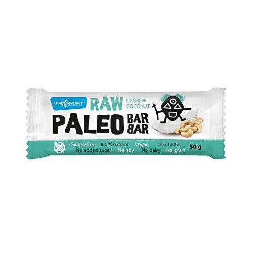 MaxSport Raw Paleo Baton z kokosem i orzechami nerkowca 50 g (8586008108341)