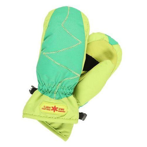 Flashy Stars ERDBEERE MITTEN Rękawiczki z jednym palcem green, kolor zielony