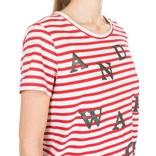 Pepe Jeans Andi T-shirt Czerwony Biały XS, kolor czerwony