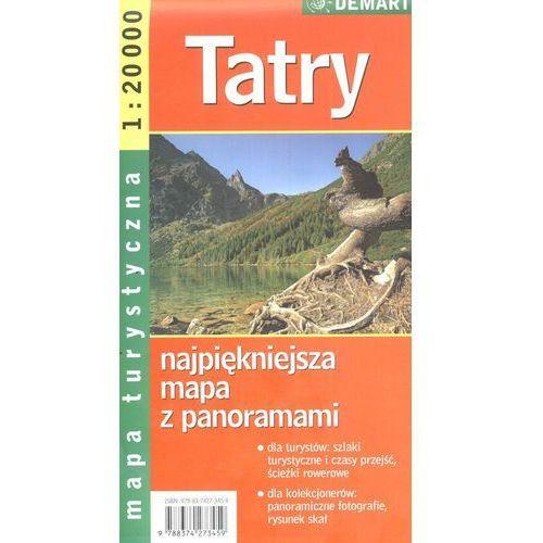 Tatry Mapa Turystyczna, praca zbiorowa