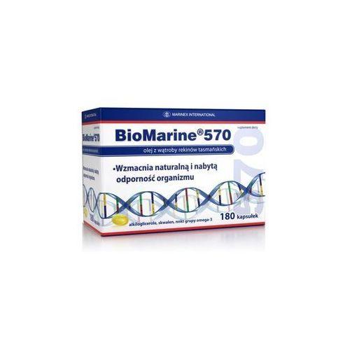 Biomarine 570 mg x 180 kaps, postać [kapsułki]