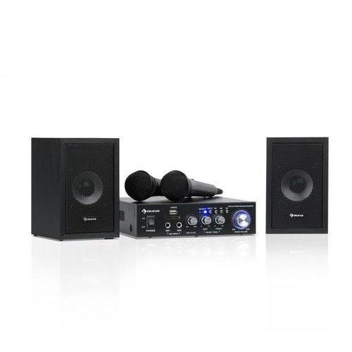 Auna Karaoke Star 2 zestaw do karaoke 2 x 50W BT USB/SD Line-In 2 x mirkofon