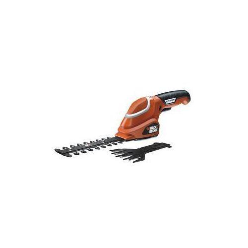 Nożyce do trawy Black-Decker GSL700 Czerwony - oferta (058ae8091152557d)