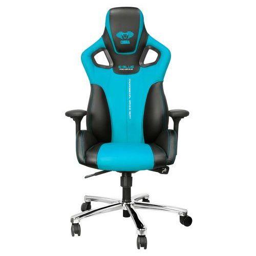 Fotel cobra, niebieski (eec303blaa-ia) darmowy odbiór w 21 miastach! marki E-blue