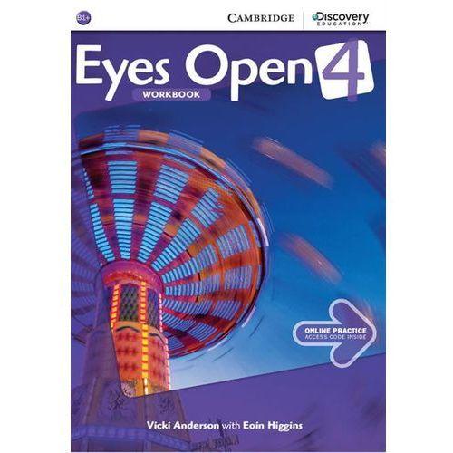 EYES OPEN 4 WB WITH ONLINE PRACTICE-mamynastanie,wyślemyjuż...., Anderson Vicki, Higgins Eoin