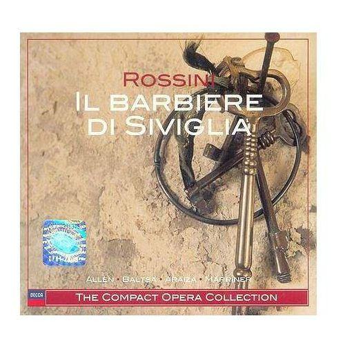 ROSSINI:IL BARBIERE DI SIVIGLIA - Neville Marriner (Płyta CD)
