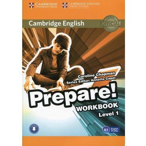 Cambridge English Prepare! Level 1 Workbook with Audio (88 str.)