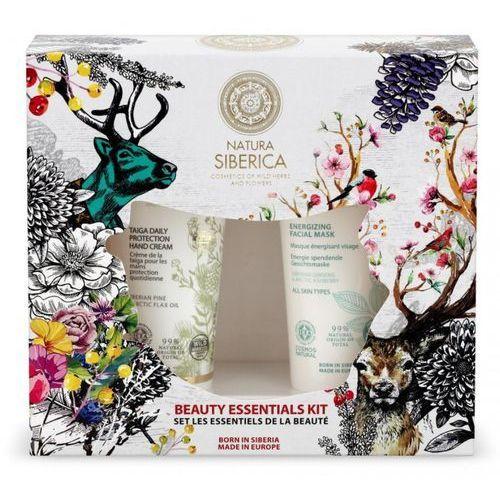 Natura Siberica Zestaw kosmetyków Beauty Essentials Kit 2 - krem ochronny do rąk 75ml + energetyzująca maseczka na twarz75 ml