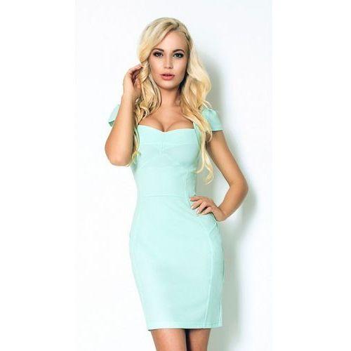 Miętowa sukienka xl marki Numoco