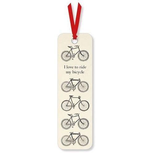 Zakładka do książki I love to Ride my Bicycle. Darmowy odbiór w niemal 100 księgarniach!