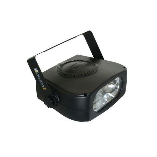 stroboskop czarny 150w ip20 wraz z uchwytem montażowym marki Beamz
