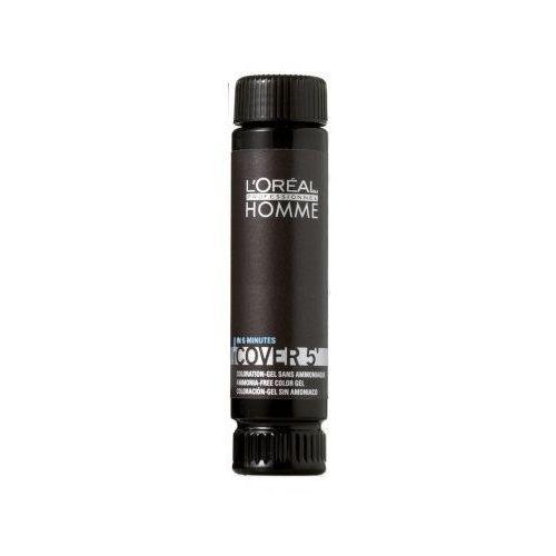 L'Oreal Homme Cover 5' (M) żel koloryzujący do włosów 04 3x50ml, L'oreal z Ekskluzywna.pl