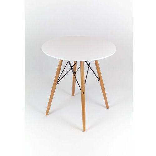 ST03 Stół inspirowany DSW DSR Eiffel Fi 80 biały (stół do kuchni i jadalni)