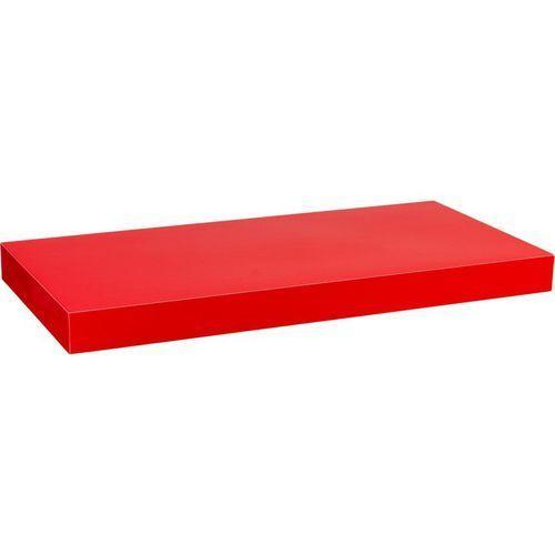 Stilista ® Czerwony połysk półka ścienna wisząca volato 110 cm - 110 cm