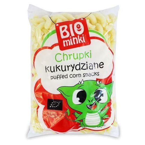 Biominki (przekąski dla dzieci) Chrupki kukurydziane bio 150 g - biominki