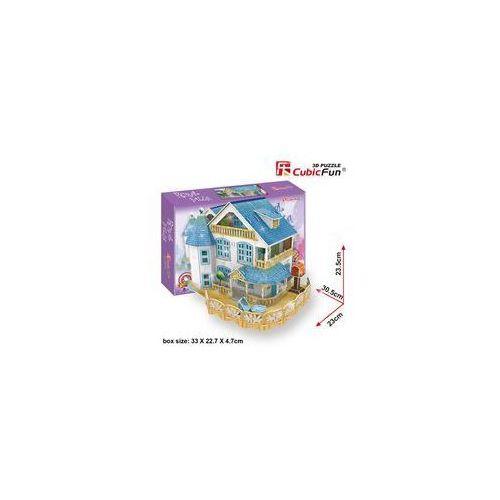 Puzzle 3D Rural Vila Domek dla lalek (domek dla lalek)
