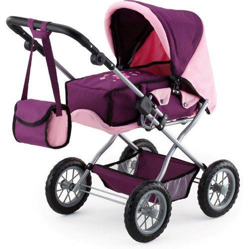 Bayer Design Wózek dla lalek Kombi Grande, różowy/fioletowy - oferta [0515d845933f3566]