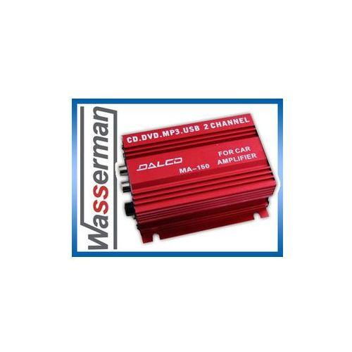 Amplifier Dalco MA-150 wzmacniacz 2x20W +USB - szczegóły w Wasserman
