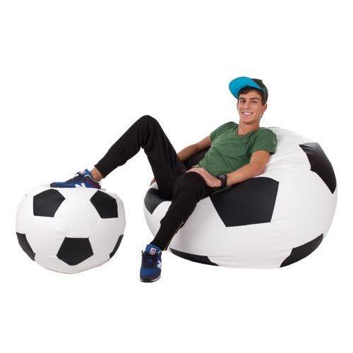 Polskie pufy , pufa football - piłka - zestaw xxxl+l - szkolna promocja!