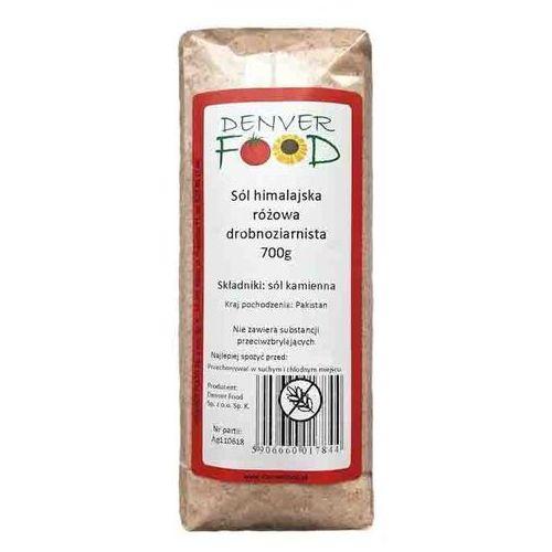 Sól Himalajska Drobnoziarnista 700 g Denver Food
